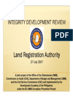 2007 Integrity Development Review of LRA