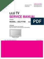 42LF7700 Service Manual