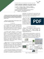 (2010) Control de Un Robot Articular Mediate Guante Sensor