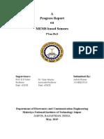 1st Sem Progess Report