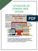 Investigacion de Reponsive Web Design