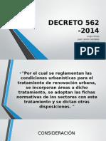 DECRETO 562 -2014