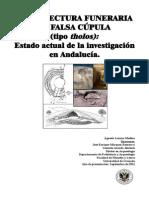 Arquitectura funeraria de falsa cúpula (tipo tholos)....pdf