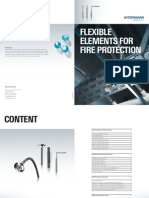Flexible Elements for Fire Protection
