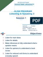 LS3. Unit 1 Session1
