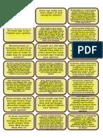 100 conversation cards