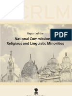 Report of the National Commission for Religious and Linguistic Minorities (Justice Ronganath Misra Commission)