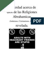 Quien Es El Dios Del Judaismo Cristianismo e Islam