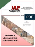 Monografia de Secuencia Logica de Una construccion