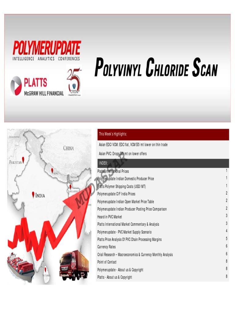 Platts Pvc 24 June 2015 | Euro | Economic Growth