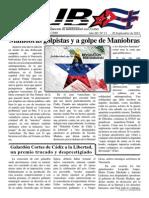 Revista Cuba+ nº 12 - septiembre 2015. Editada por el grupo Cuba+ de Cádiz