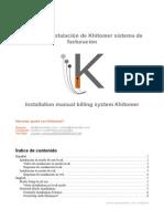 Manual Instalación Khitomer