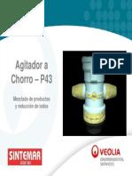 Agitador a Chorro p43 Mezclas de Productos y Reduccion de Lodos en Derivados Del Petroleo Presentacion Detallada