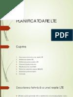 PLANIFICATOARE LTE
