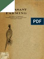 Pheasant Farming