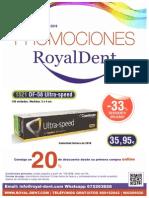 Promociones Material Dental Royal Dent Septiembre Enero 2016