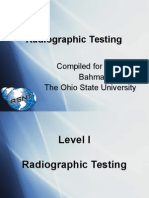 radiographic testing NDT