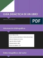 Guia didáctica de Un Libro