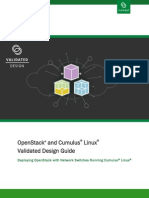 OpenStack Cumulus Linux Validated Design Guide