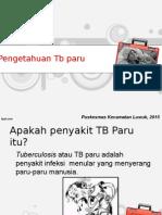 Penyuluhan TB PKM Simpong