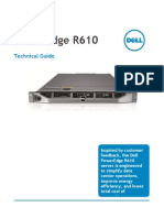 Server Poweredge r610 Tech Guidebook