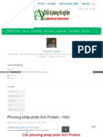 Phuong Phap Phan Tich Protein Nito