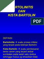 Kista Bartolin