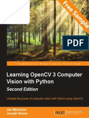 Learning OpenCV 3 Computer Vision with Python - Second