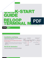 Reloop Terminal Mix 2 Quickstart Guide