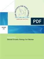internal security strategy for Pakistan
