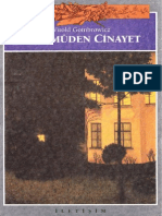 Witold Gombrowicz - Taamüden Cinayet