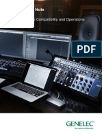 Genelec Sam Systems - Application Note - July 2015