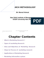 Marketing Research 1.1