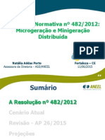 Resolução Normativa nº 482/2012