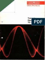 NORDMENDE Transistor-Oszillograph TO 368
