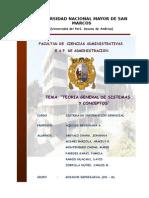 Teoria General de Sistemas Grupo Mirador Empresarial1
