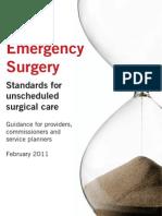 Rcs Emergency Surgery 2011 Web