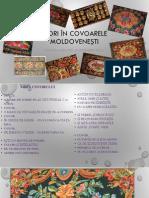 Flori În Covoarele Moldovenești