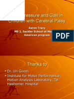 Gait and Foot Pressure-Aaron Tracy