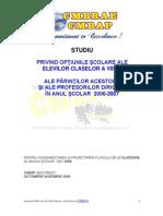 Studiu Osp an Scolar 2006-2007