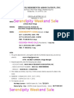 WWRAI Serendipity Weekend Sale - Vendor Form