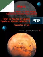 Vagy más néven, A vörös Bolygó, káprázatos
