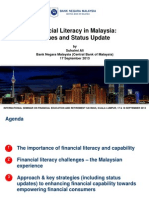 Financial Literacy in Malaysia Issues and Status Update