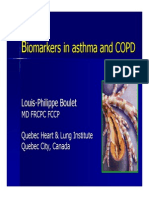 BioMarkers in Asthma & COPD - Boulet