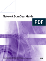 Network Scangear Guide
