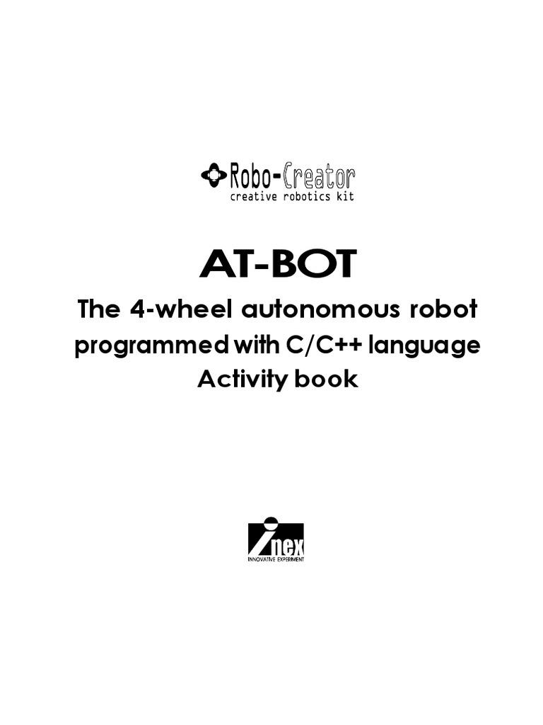 At-Bot: The 4-wheel autonomous robot programmed with C/C++