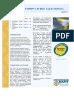 Renta Por Comparacion Patrimonial, Eafir 2007