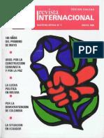 Revista Internacional - Nuestra Epoca N°5 - Edición Chilena - Mayo 1986