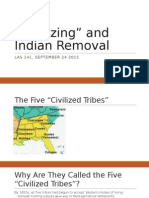 Lecture Indian Removal