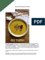 Dal Tadka Recipe, Dhokla